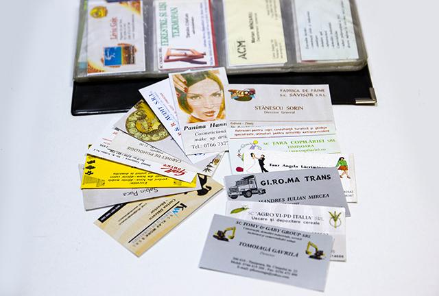 Carti de vizita personalizate