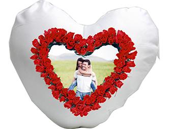 Perina personalizata in forma de inima